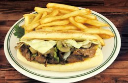 Philly Cheese Steak Hoagie